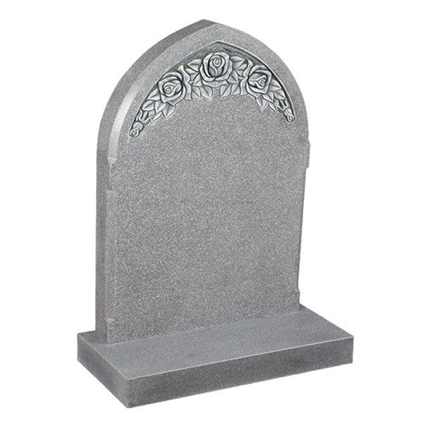 Cera Grey Lawn Headstone
