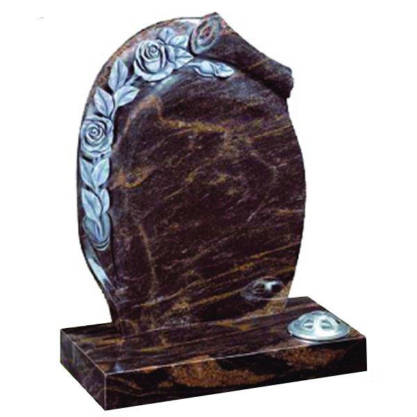 Indian Aurora Premium Lawn Headstone