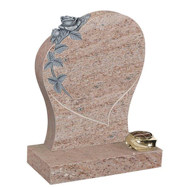 Juparana Lawn Headstone